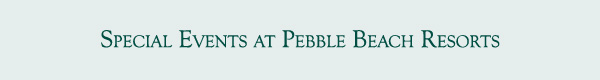 Pebble Beach Welcomes New Partners