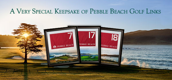 Authentic Pebble Beach Golf Links Flags