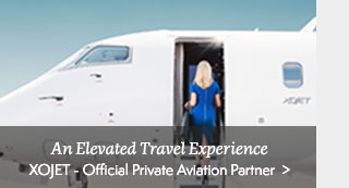 Announcing XOJET as our Official Private Aviation Partner