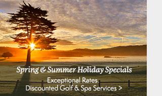 Spring & Summer Holiday Specials