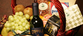Fruit, Cheese & Wine Basket