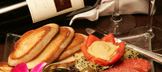 Sausage & Cheese Plate with Cabernet