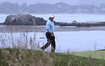 Lee Westwood on Pebble Beach Golf Links