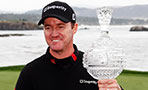 Jimmy Walker, winner of the 2014 AT&T Pebble Beach National Pro-Am