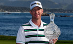 Vaughn Taylor, winner of the 2016 AT&T Pebble Beach Pro-Am