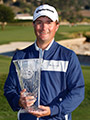 Kevin Kisner, winner of the 2013 Callaway Pebble Beach Invitational