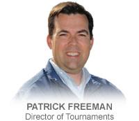 Patrick Freeman, Director of Tournaments