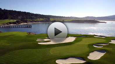 The 17th Green at Pebble Beach Golf Links
