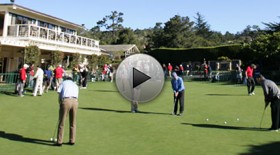 Pebble Beach Golf Links Putting Green