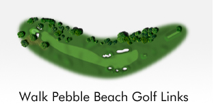 Walk Pebble Beach Golf Links