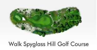 Walk Spyglass Hill Golf Course