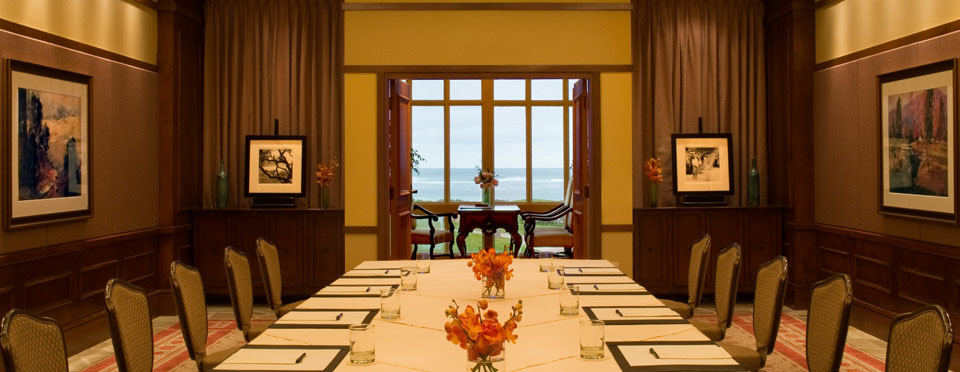 The Inn at Spanish Bay Boardroom