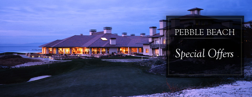 Packages - Pebble Beach Resort Special Offers