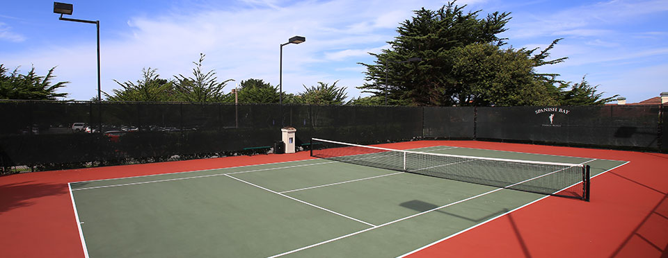 The Tennis Pavilion at The Spanish Bay Club