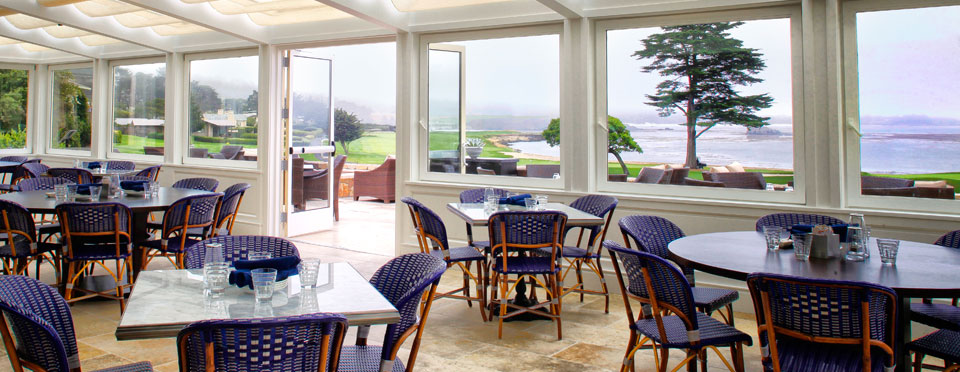 Dining at Pebble Beach Resort - The Bench