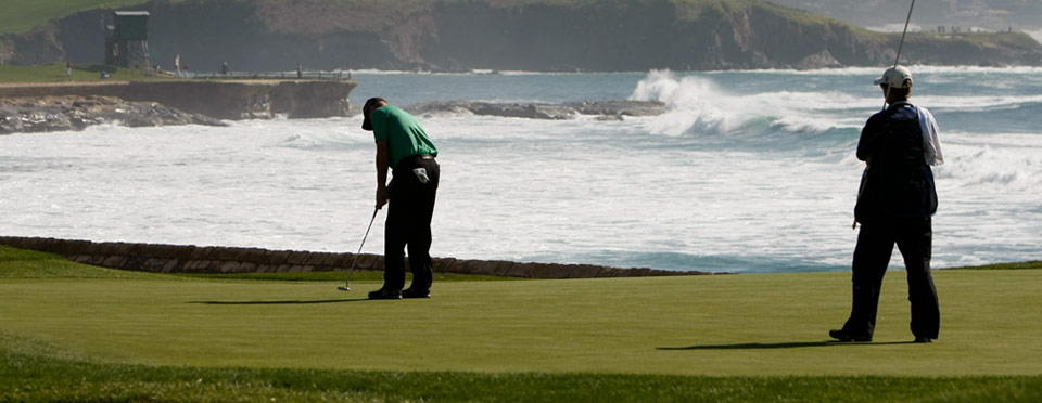 Golf at Pebble Beach Resort - Caddie Services