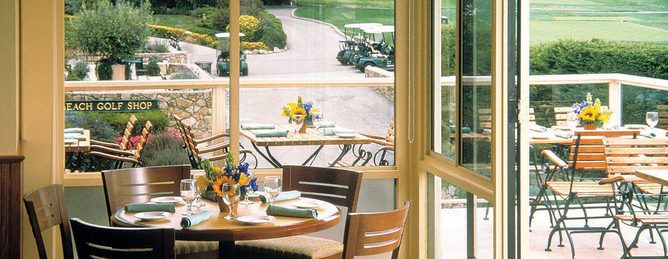 Dining at Pebble Beach Resort - Gallery Cafe