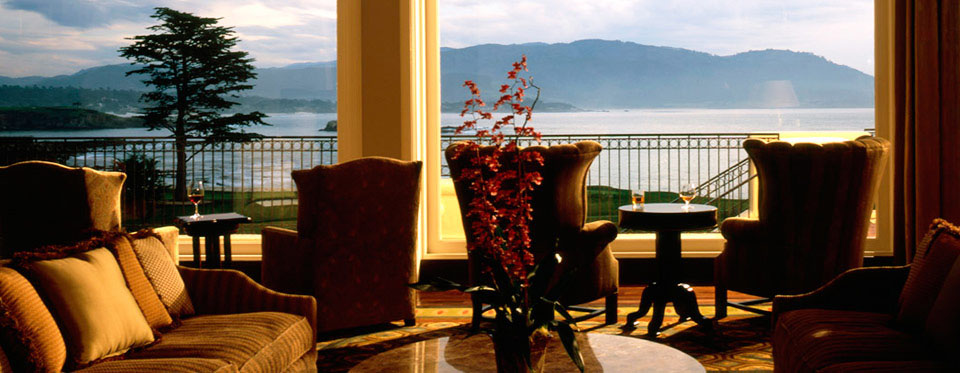 Dining at Pebble Beach Resort - The Terrace Lounge