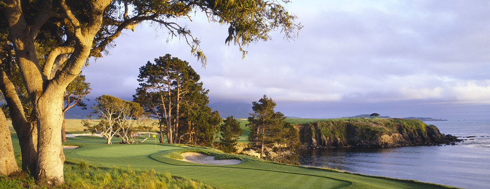 Golf at Pebble Beach Resort - The New 5th Hole