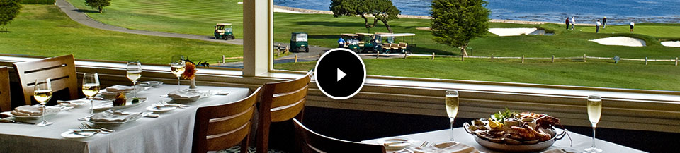 Dining at Pebble Beach Resorts