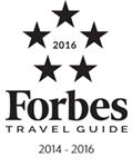 Forbes 5 Star Award, 2016