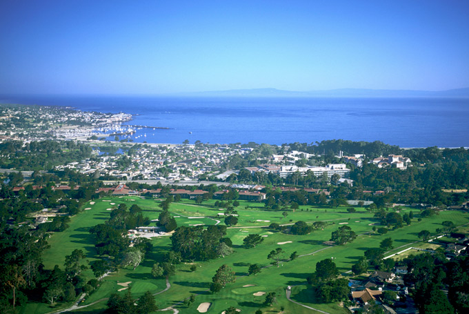 Pebble Beach Callaway Invitational with awesome invitation example